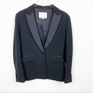 3.1 Philip Lim | Wool Silk Tuxedo Blazer
